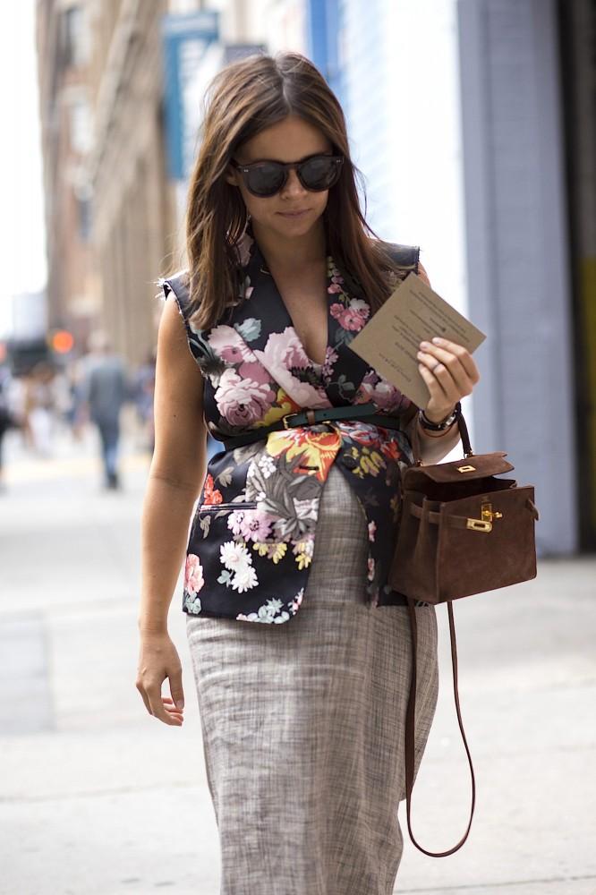 SS15 New York Street Style - September 08 2014 - Spring Summer 2015